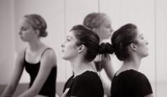 Choreographer Elizabeth Bergman